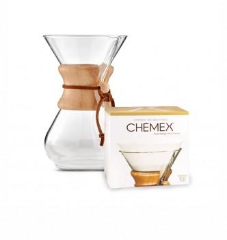 Cafetera Chemex 6 cups + filtros