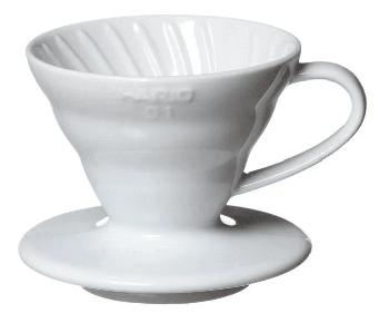 Cafetera Dripper Hario V60 Cerámica 01